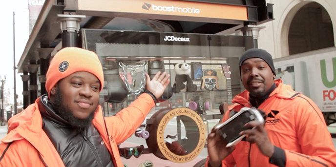 Boost Mobile Sets Up VR Booth In Chicago