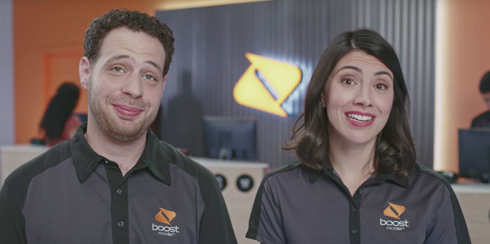 Customers Flip Off Their Wireless Provider in New Boost Mobile Campaign