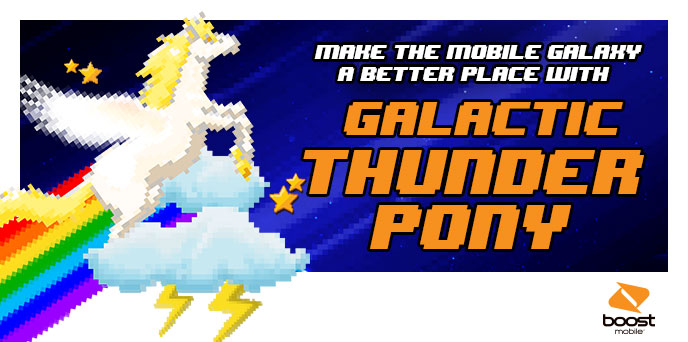 Boost Uses 'Thunder Pony' Power To Defeat 'Evil Mobile Mega Corps'