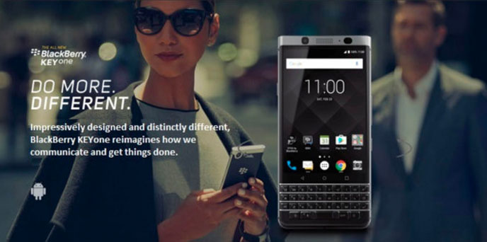 Do More. Different. Anthem Blackberry Commercial