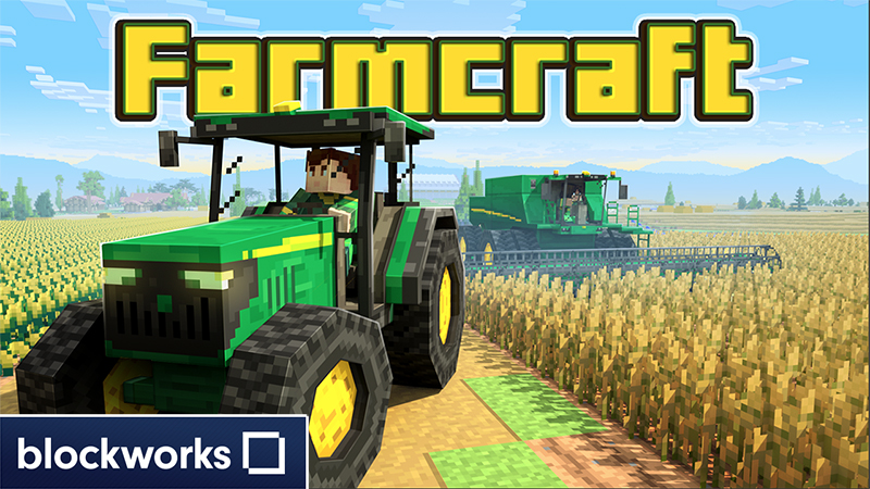 John Deere Brings the Farm Home with New Minecraft World